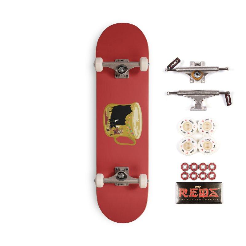Café Olé Accessories Complete - Pro Skateboard by BullShirtCo