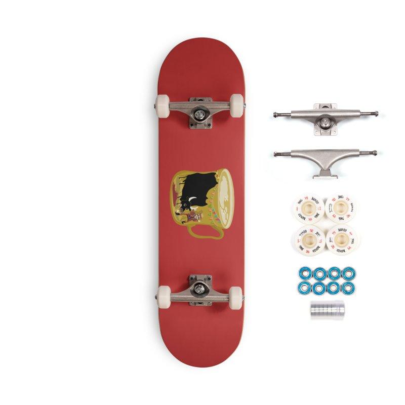 Café Olé Accessories Skateboard by BullShirtCo