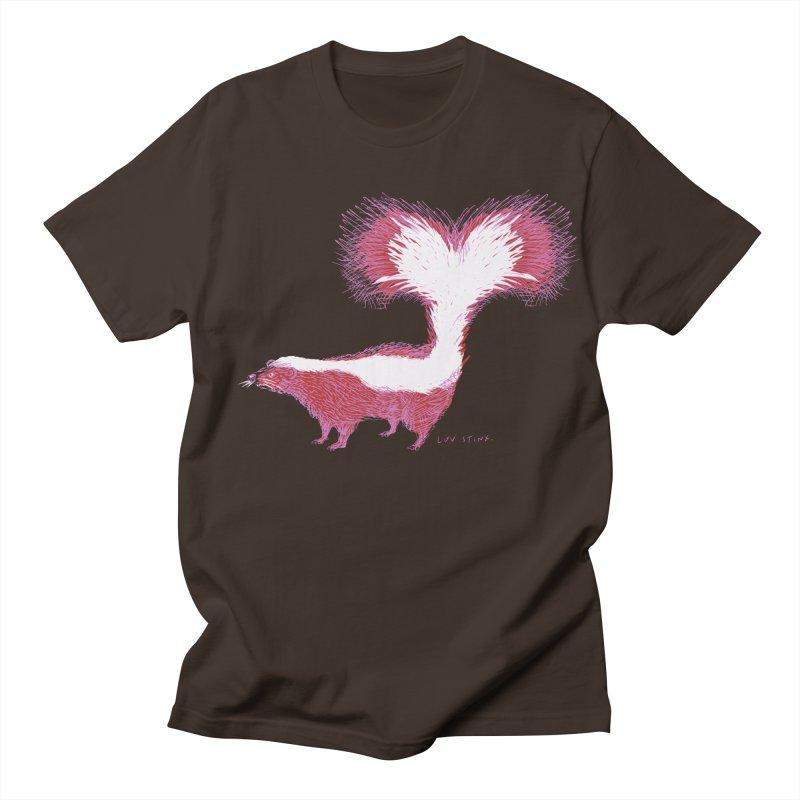 Luv Stinx Men's T-Shirt by BullShirtCo