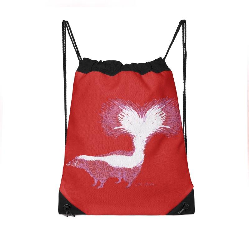 Luv Stinx Accessories Drawstring Bag Bag by BullShirtCo
