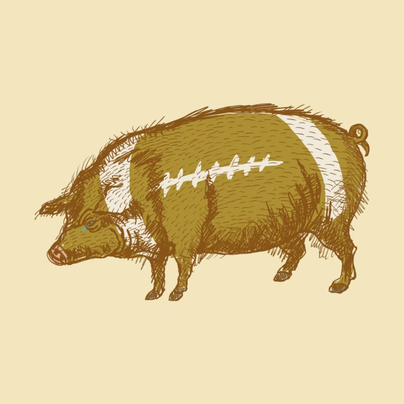 Pig Skin Home Blanket by BullShirtCo