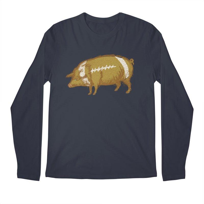 Pig Skin Men's Longsleeve T-Shirt by BullShirtCo