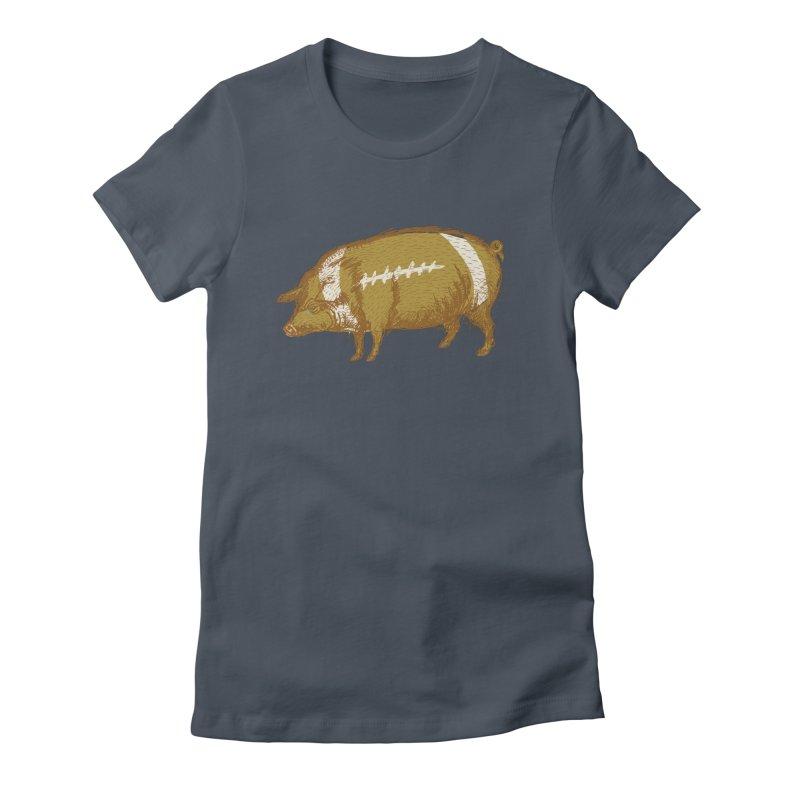 Pig Skin Women's T-Shirt by BullShirtCo