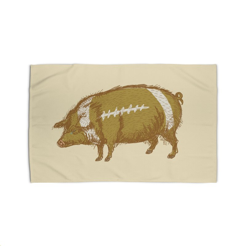 Pig Skin Home Rug by BullShirtCo