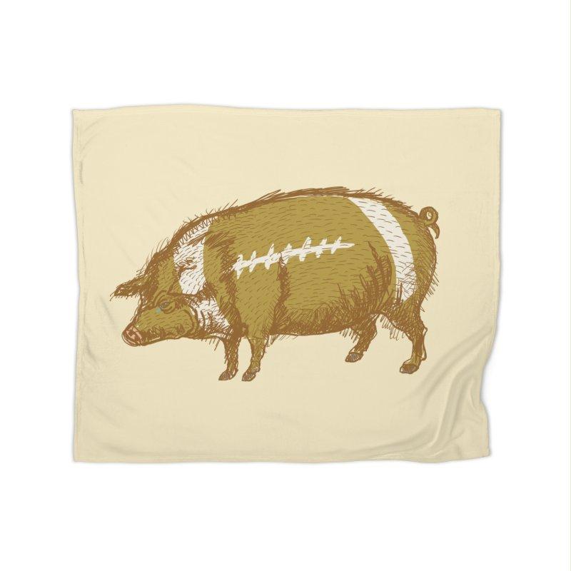 Pig Skin Home Blanket by BullShirtCo