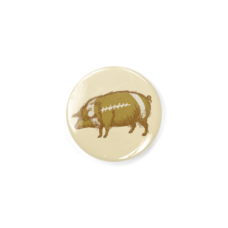 Pig Skin Accessories Button by BullShirtCo