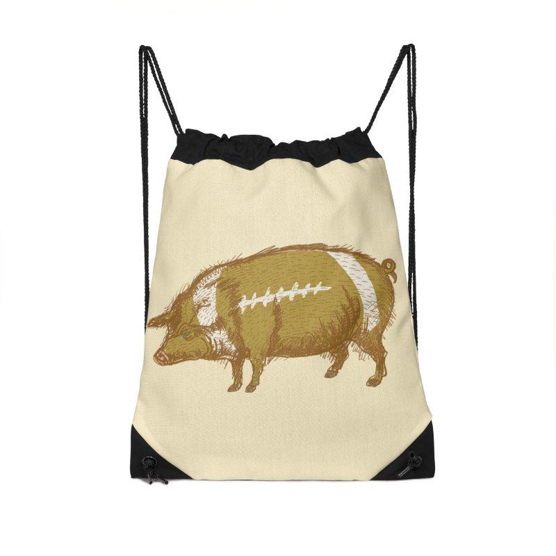 Pig Skin Accessories Bag by BullShirtCo