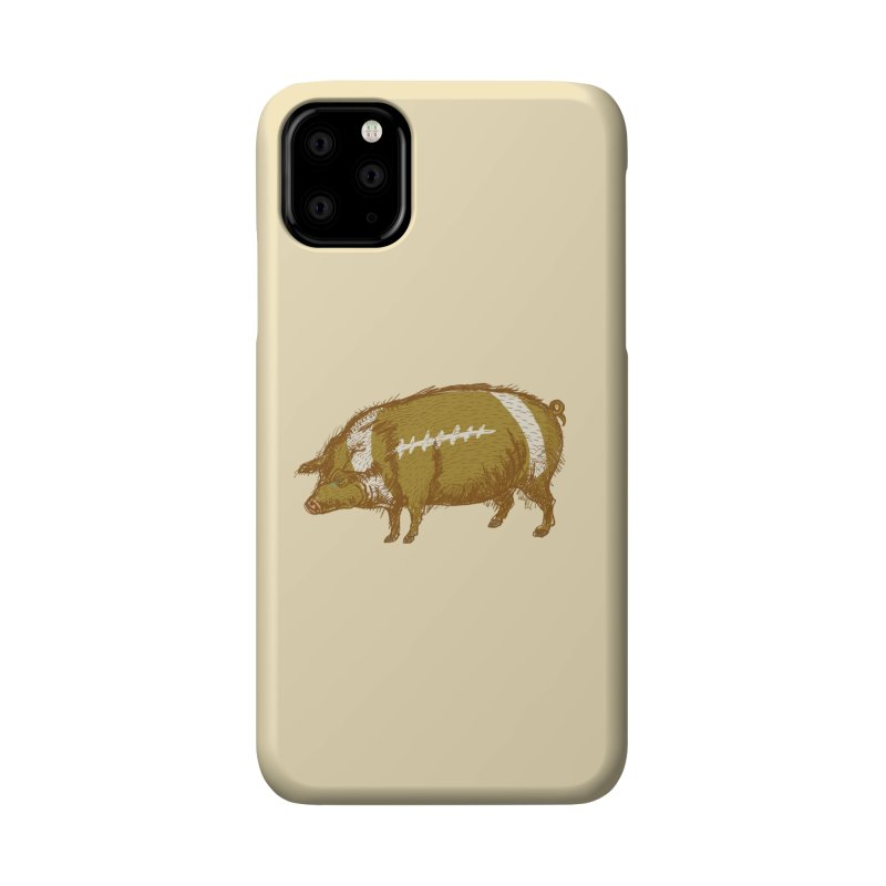 Pig Skin Accessories Phone Case by BullShirtCo