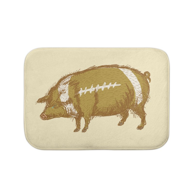 Pig Skin Home Bath Mat by BullShirtCo