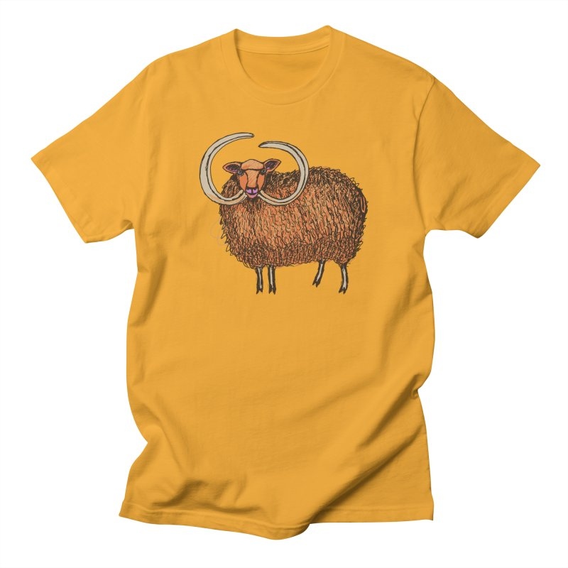 Wooly Mammoth Men's T-Shirt by BullShirtCo