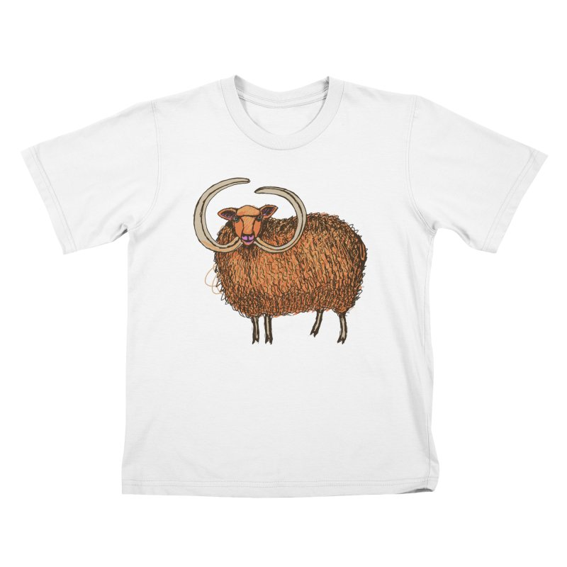Wooly Mammoth Kids T-Shirt by BullShirtCo