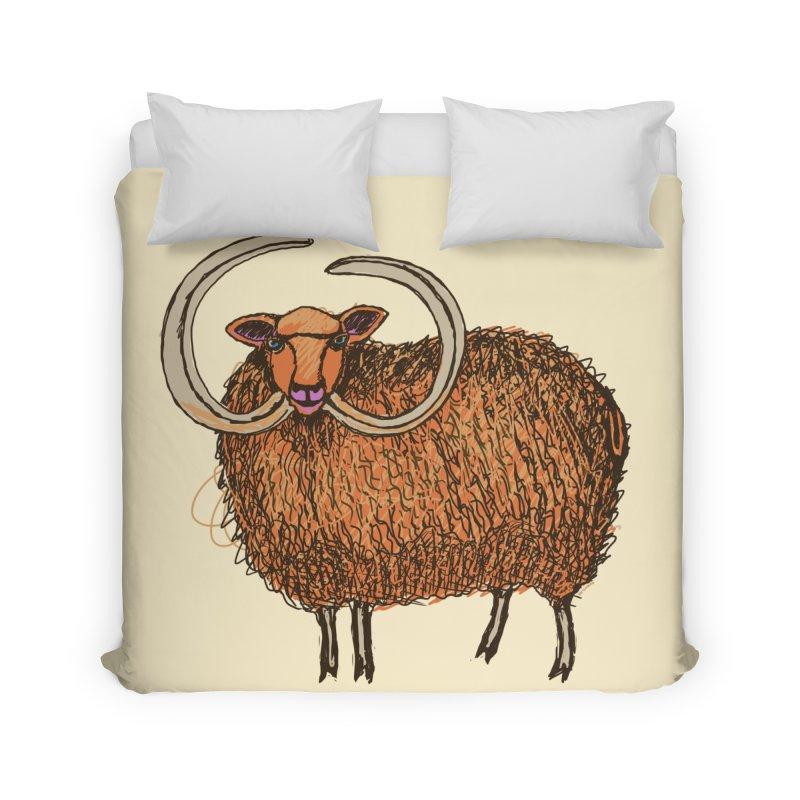 Wooly Mammoth Home Duvet by BullShirtCo