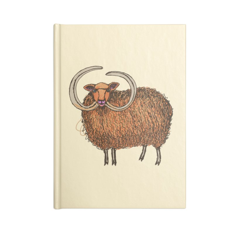 Wooly Mammoth Accessories Notebook by BullShirtCo