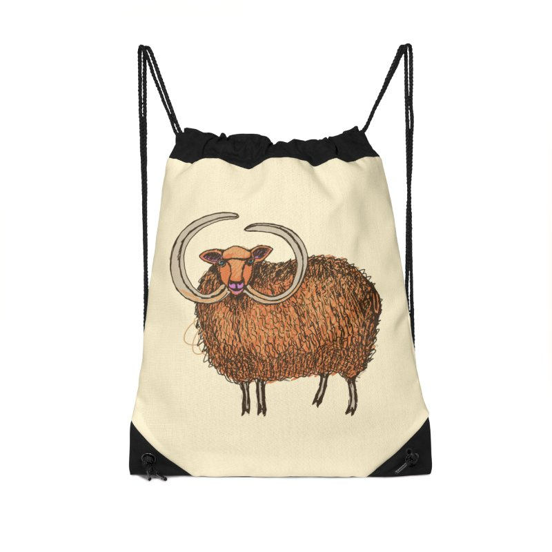 Wooly Mammoth Accessories Bag by BullShirtCo