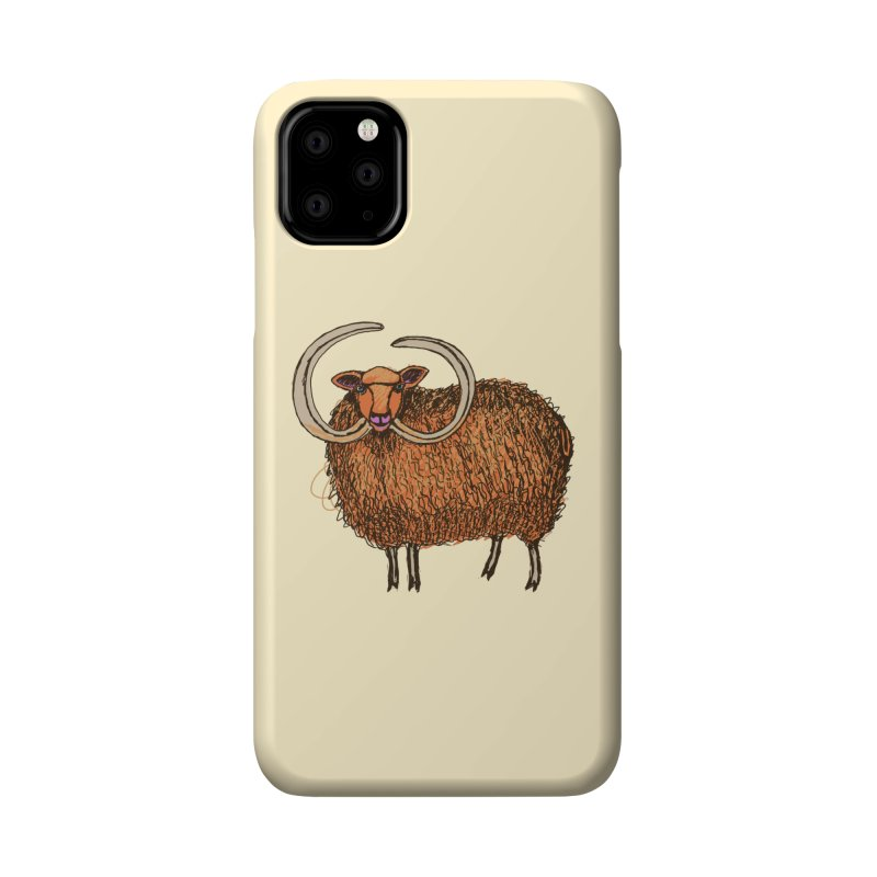 Wooly Mammoth Accessories Phone Case by BullShirtCo