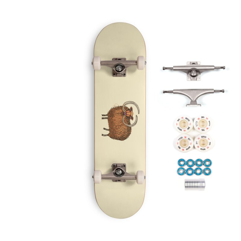 Wooly Mammoth Accessories Complete - Premium Skateboard by BullShirtCo