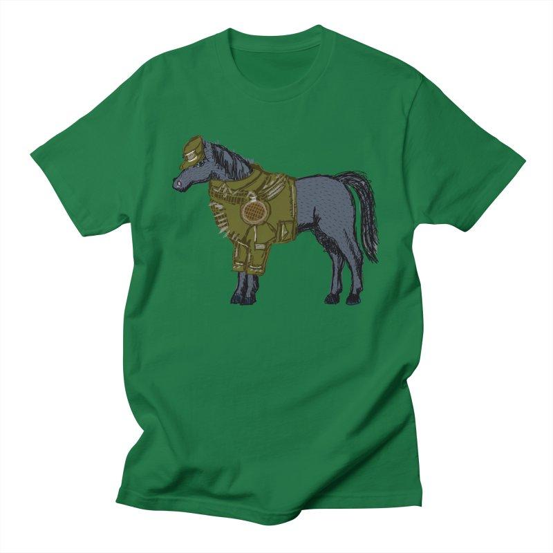 War Horse Men's T-Shirt by BullShirtCo