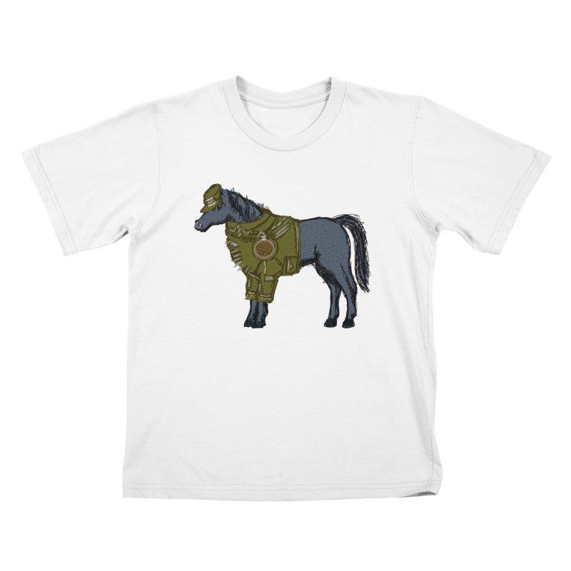 War Horse Kids T-Shirt by BullShirtCo