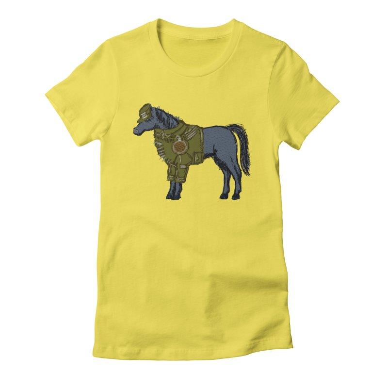 War Horse Women's T-Shirt by BullShirtCo