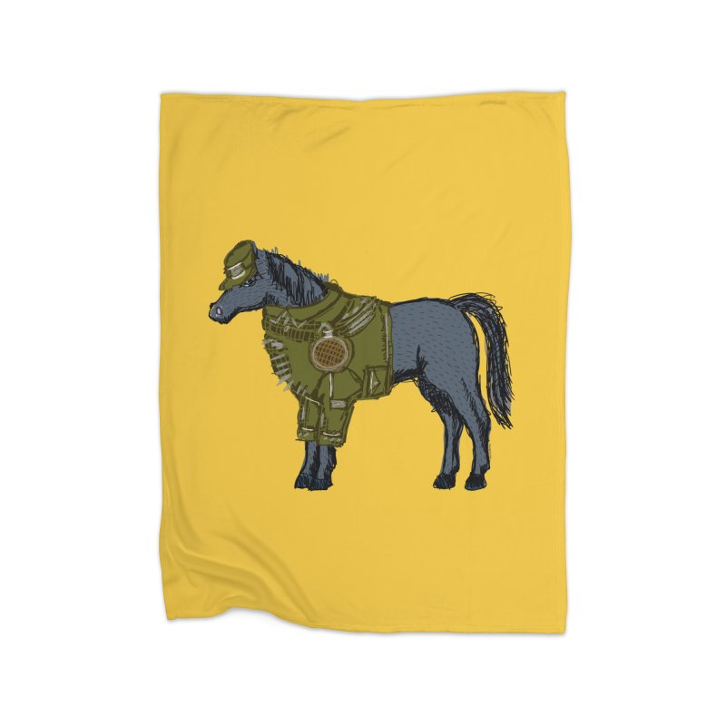 War Horse Home Blanket by BullShirtCo