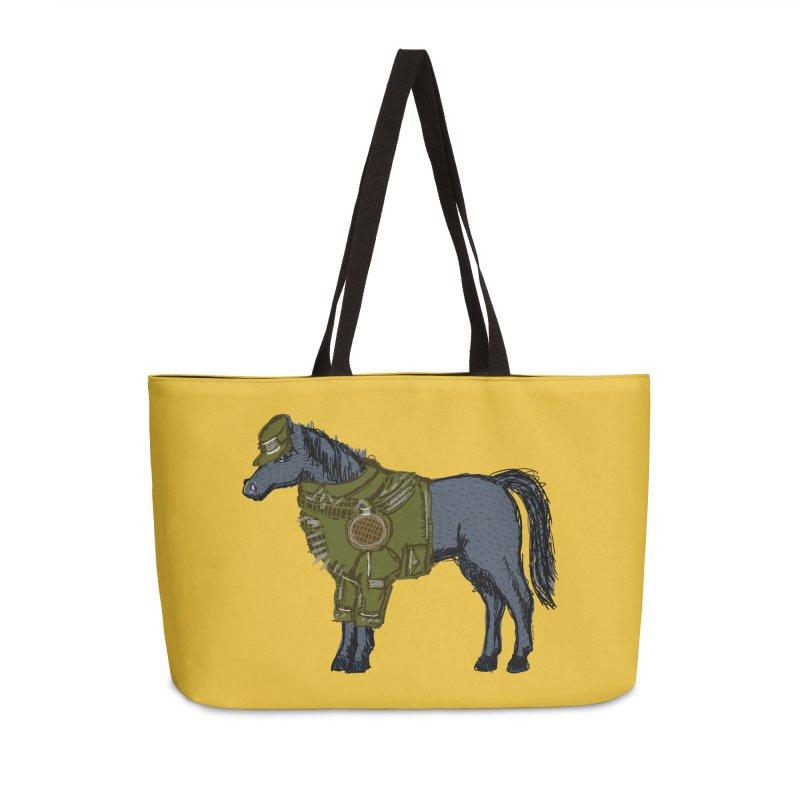 War Horse Accessories Weekender Bag Bag by BullShirtCo
