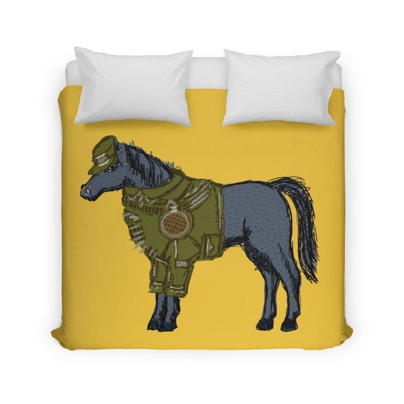 War Horse Home Duvet by BullShirtCo