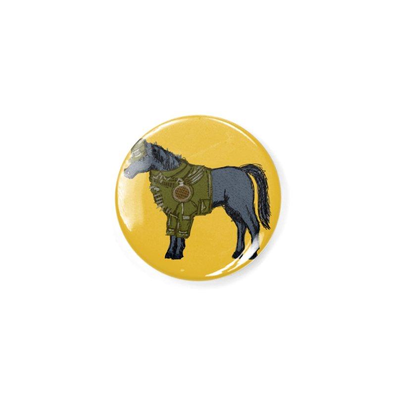 War Horse Accessories Button by BullShirtCo