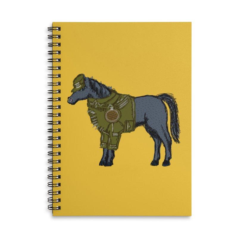 War Horse Accessories Notebook by BullShirtCo