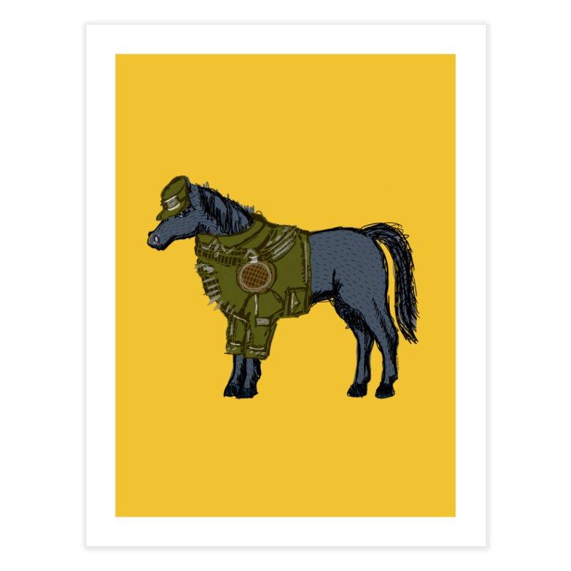 War Horse Home Fine Art Print by BullShirtCo