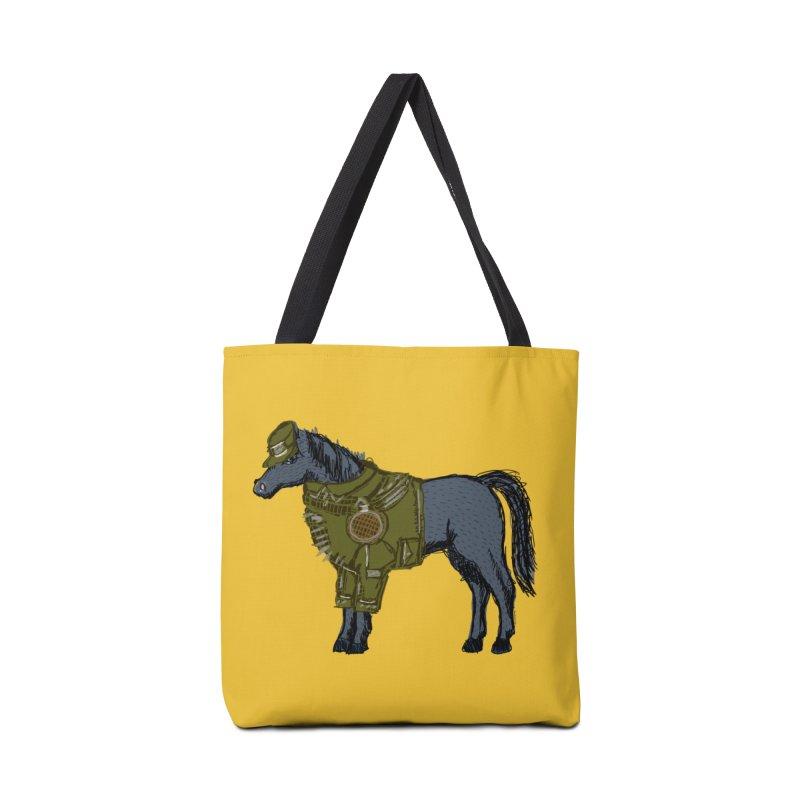 War Horse Accessories Tote Bag Bag by BullShirtCo