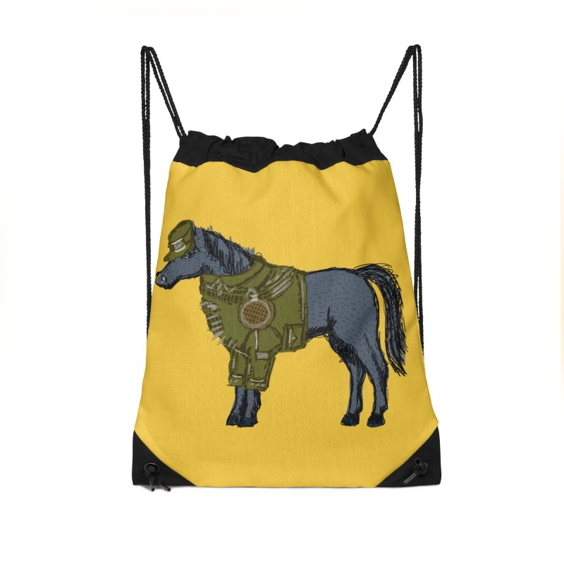 War Horse Accessories Bag by BullShirtCo