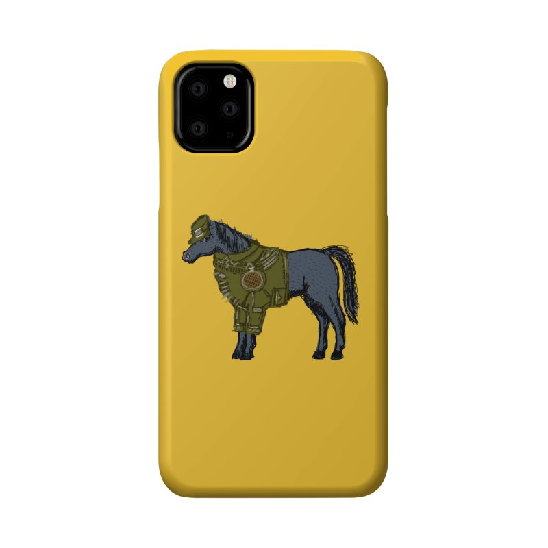 War Horse Accessories Phone Case by BullShirtCo