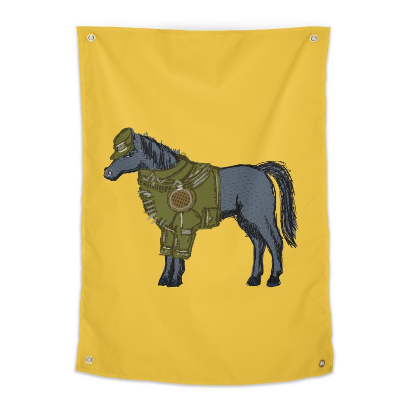 War Horse Home Tapestry by BullShirtCo