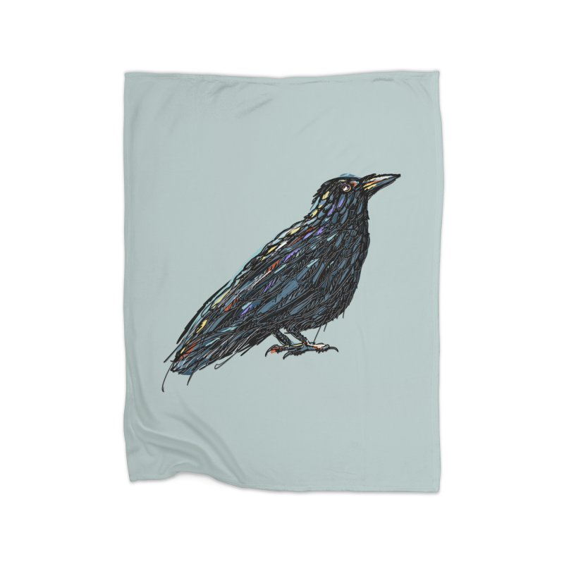 Crow's Feet Home Blanket by BullShirtCo