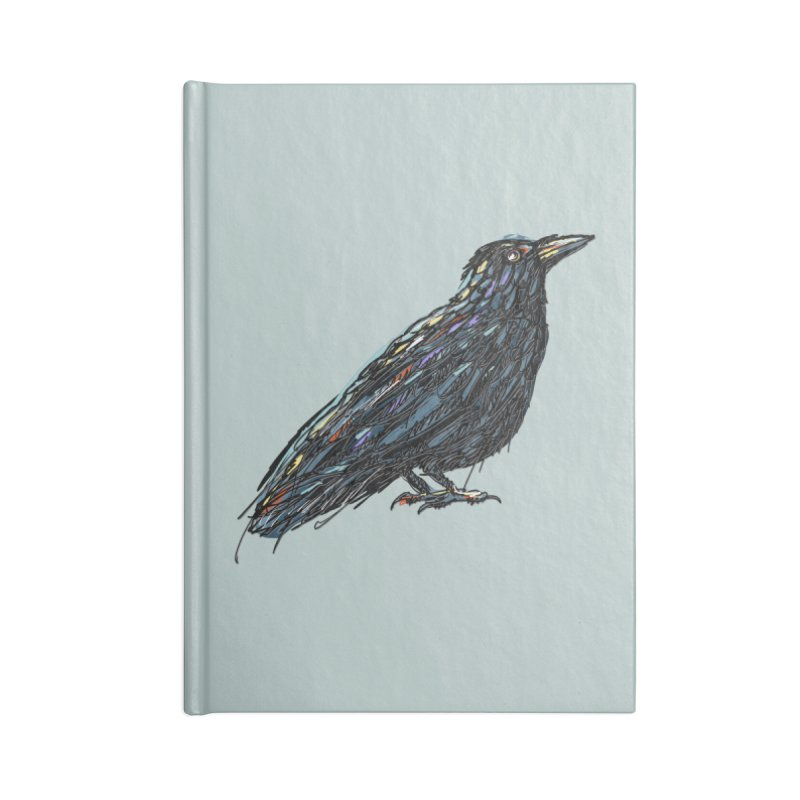 Crow's Feet Accessories Notebook by BullShirtCo