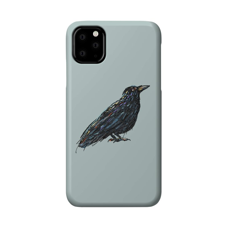 Crow's Feet Accessories Phone Case by BullShirtCo