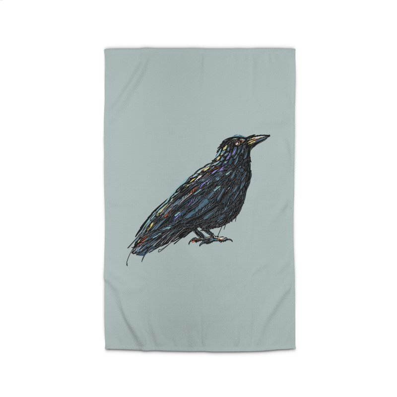 Crow's Feet Home Rug by BullShirtCo
