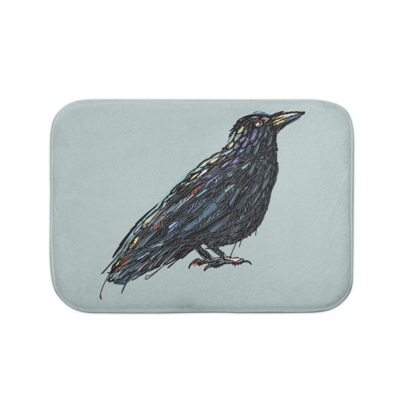 Crow's Feet Home Bath Mat by BullShirtCo