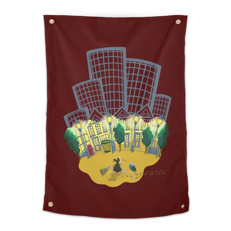 Big Plans Home Tapestry by BullShirtCo