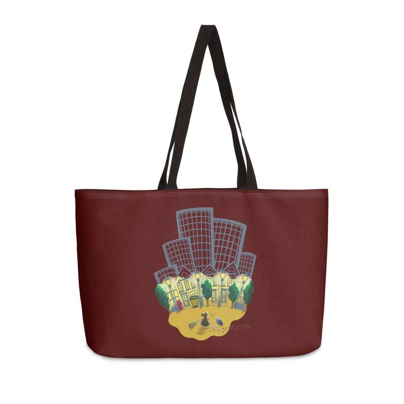 Big Plans Accessories Weekender Bag Bag by BullShirtCo