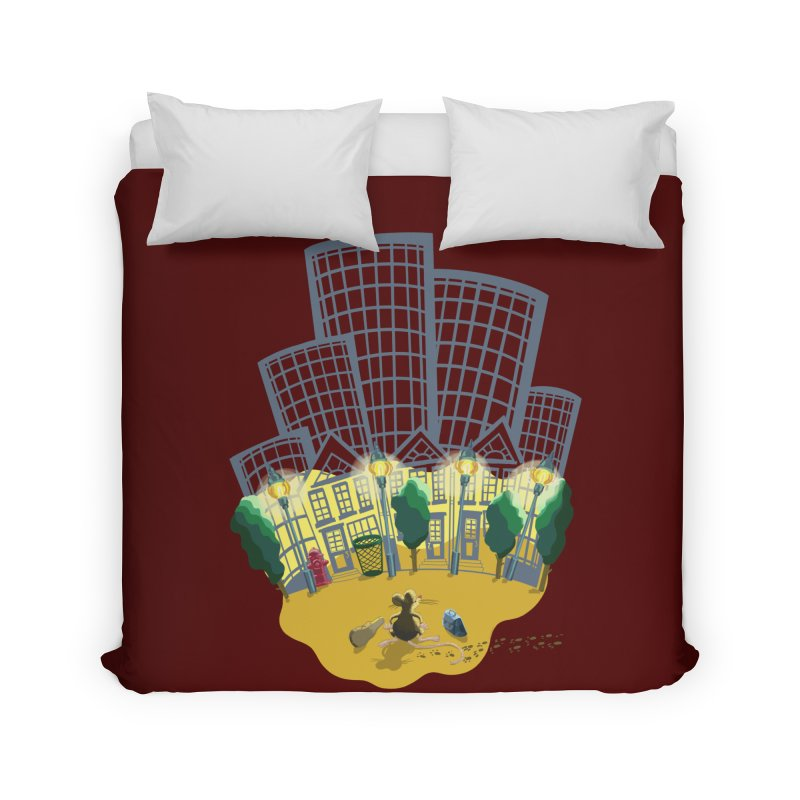 Big Plans Home Duvet by BullShirtCo