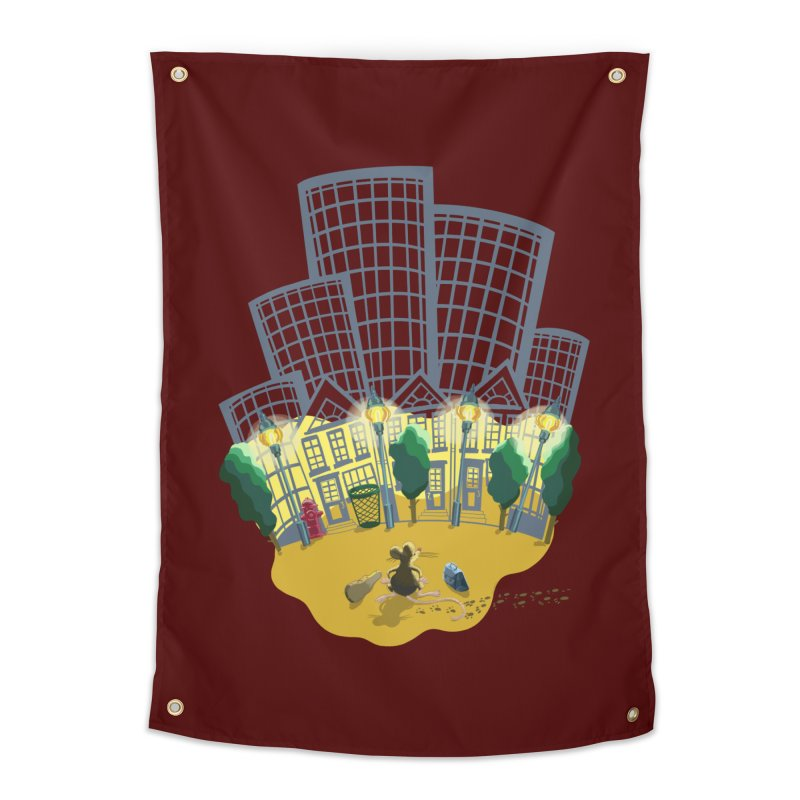 Big Plans Home Tapestry by BullShirtCo