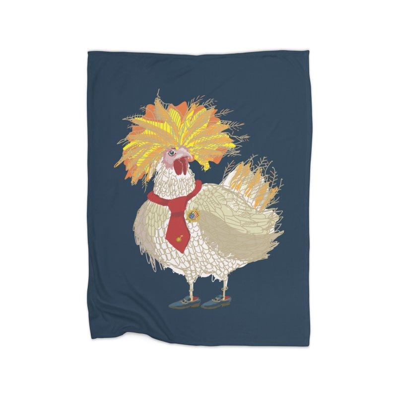 Cockfighter Home Blanket by BullShirtCo