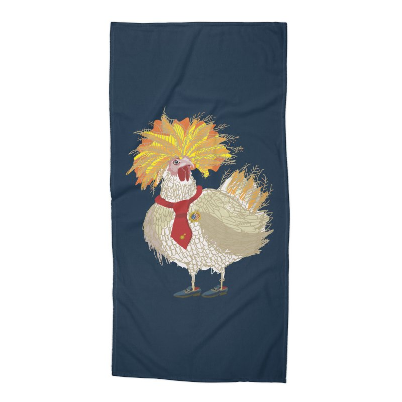 Cockfighter Accessories Beach Towel by BullShirtCo