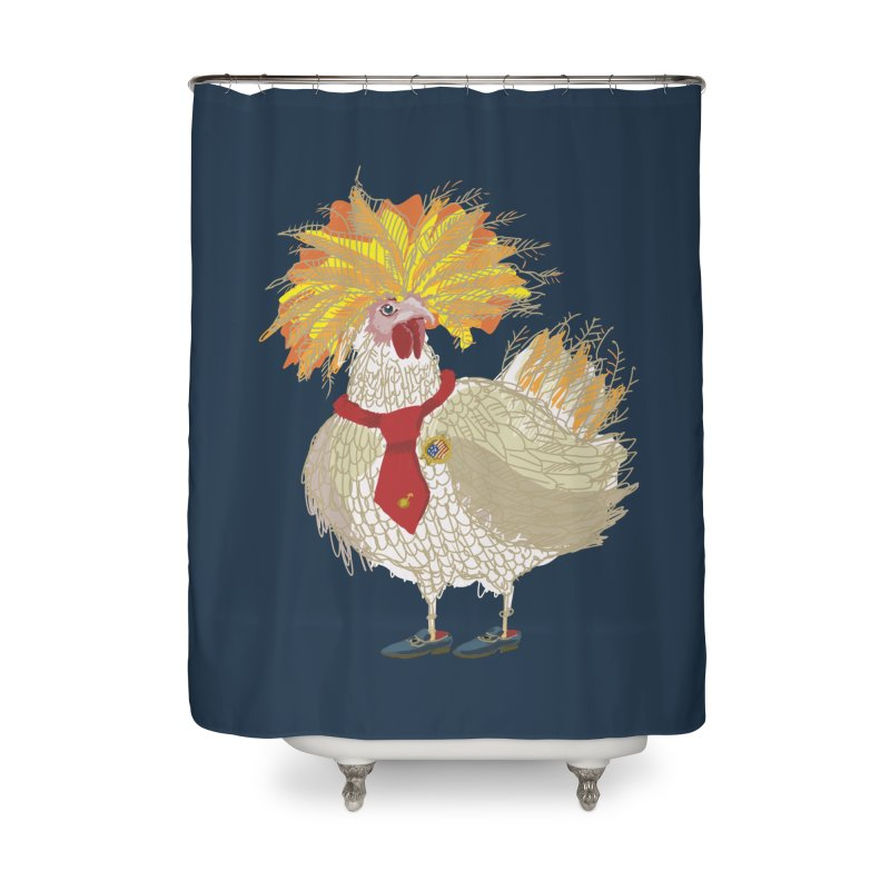 Cockfighter Home Shower Curtain by BullShirtCo