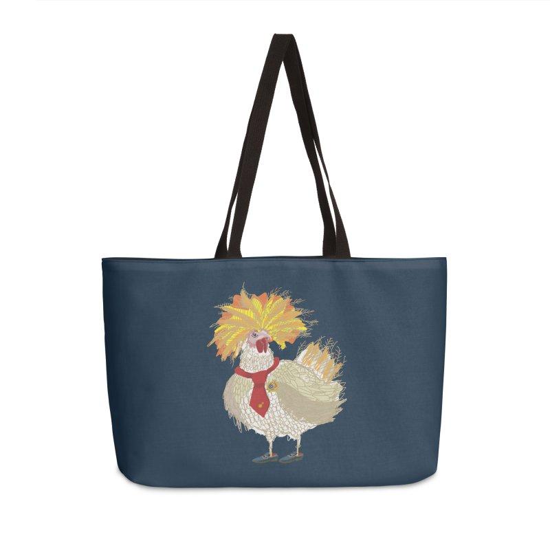 Cockfighter Accessories Weekender Bag Bag by BullShirtCo