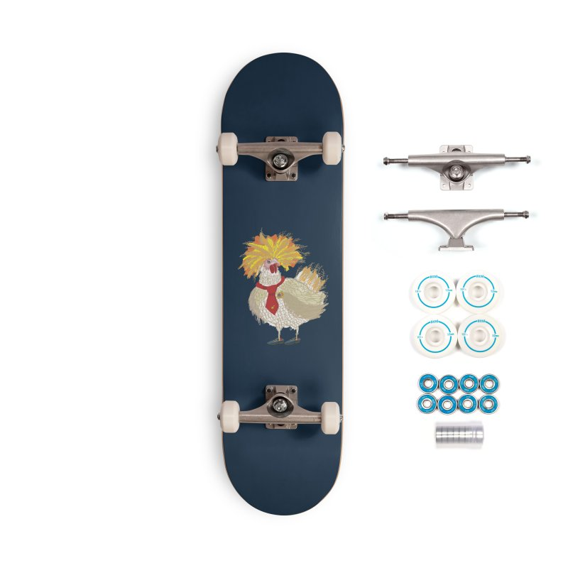 Cockfighter Accessories Skateboard by BullShirtCo