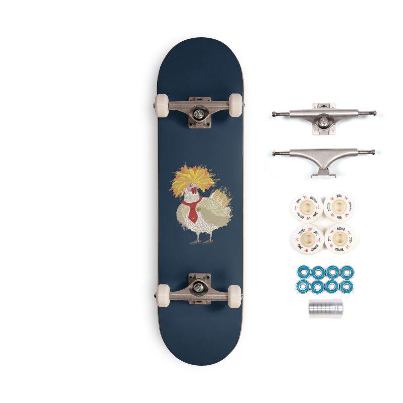 Cockfighter Accessories Skateboard by BullShirtCo