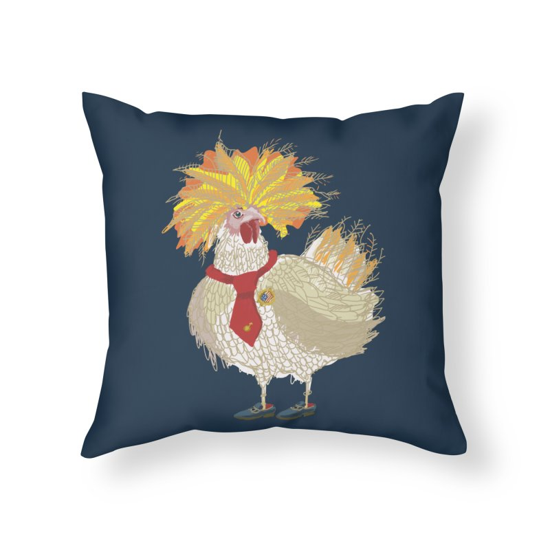 Cockfighter Home Throw Pillow by BullShirtCo