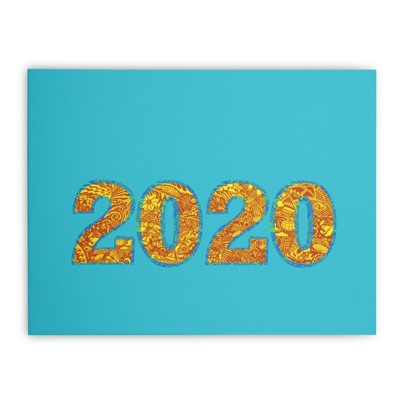 2020 Vision Home Stretched Canvas by BullShirtCo